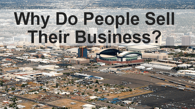 Why Do People Sell Their Business?